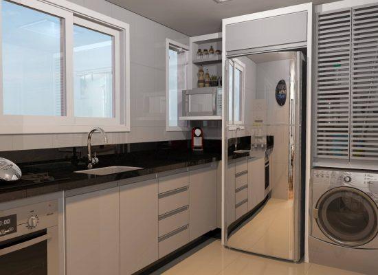 Projeto 3d - Cozinha