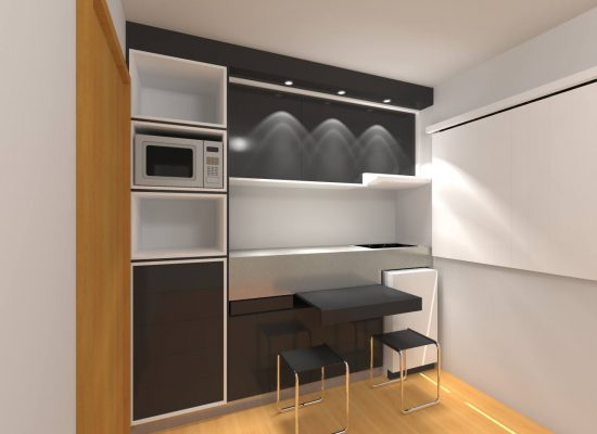 3D - Cozinha conceito